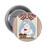 Kids Bunny Rabbit T Shirts and Gifts Pin