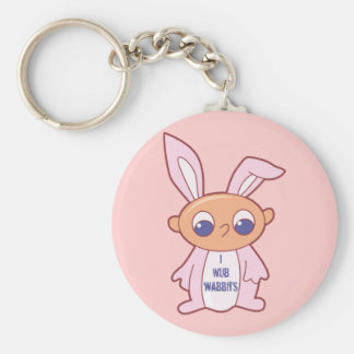 Kids Bunny T Shirts and Kids Gifts Keychain