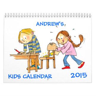 Kids Calendar 2015 - Funny Calendars For Kids
