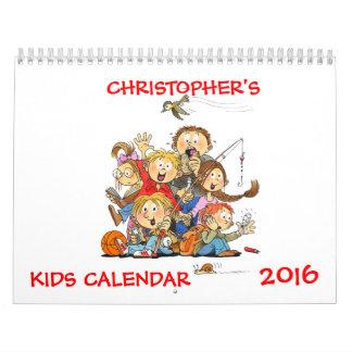 Kids Calendar 2016 - Funny Calendar For Kids