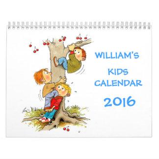 Kids Calendar 2016 - Funny Calendars For Kids