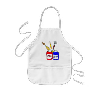 Kids can be Artist Too Kids' Apron