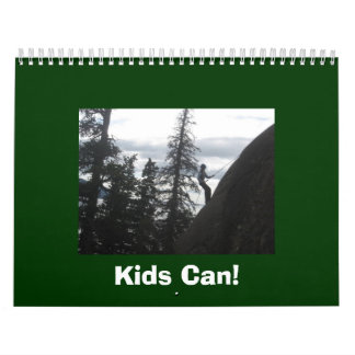 Kids Can! Calendar
