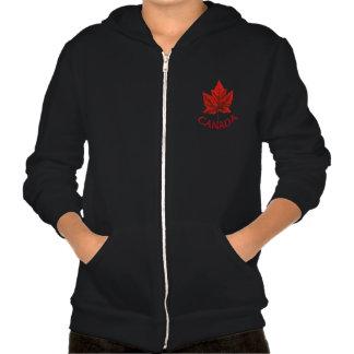 Kid's Canada Jacket Hoodie Kid's Maple Leaf Hoodie