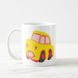 Kids Car Coffee Mug