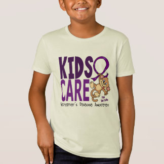 Kids Care 1 Alzheimer's Disease T-Shirt