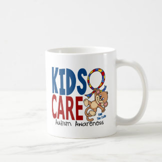 Kids Care 1 Autism Coffee Mug