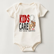 Kids Care 1 Bone Cancer Baby Bodysuit