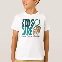 Kids Care 1 Cervical Cancer T-Shirt