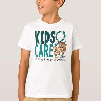Kids Care 1 Cervical Cancer T-Shirt