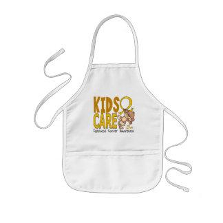 Kids Care 1 Childhood Cancer Aprons