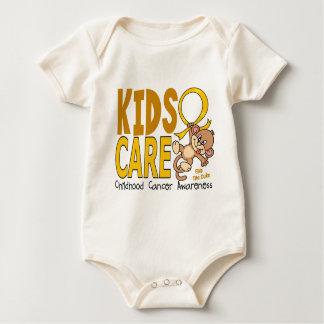 Kids Care 1 Childhood Cancer Baby Bodysuit