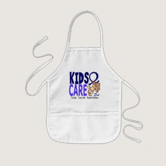 Kids Care 1 Colon Cancer Kids' Apron
