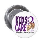 Kids Care 1 Epilepsy Pinback Buttons