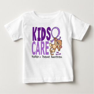 Kids Care 1 Hodgkin's Lymphoma / Disease Baby T-Shirt