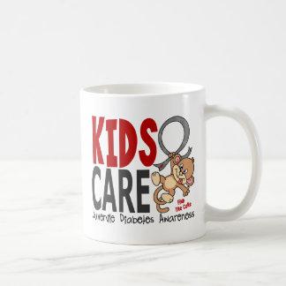 Kids Care 1 Juvenile Diabetes Classic White Coffee Mug