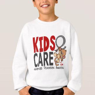 Kids Care 1 Juvenile Diabetes Sweatshirt