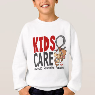 Kids Care 1 Juvenile Diabetes Sweatshirt
