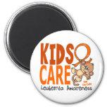 Kids Care 1 Leukemia Fridge Magnets