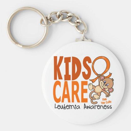 Kids Care 1 Leukemia Keychain