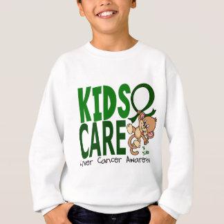 Kids Care 1 Liver Cancer Sweatshirt