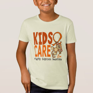 Kids Care 1 Multiple Sclerosis MS T-Shirt