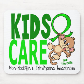 Kids Care 1 Non-Hodgkin's Lymphoma Mouse Pad