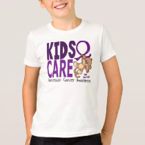 Kids Care 1 Pancreatic  Cancer T-Shirt