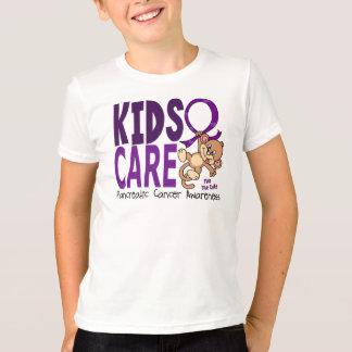 Kids Care 1 Pancreatic  Cancer T-Shirt