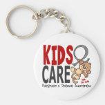 Kids Care 1 Parkinson's Disease Key Chain