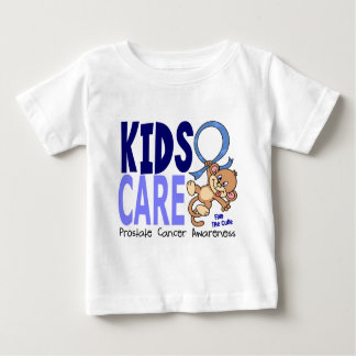 Kids Care 1 Prostate Cancer Baby T-Shirt