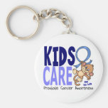 Kids Care 1 Prostate Cancer Key Chain