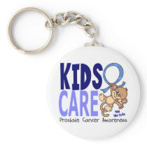 Kids Care 1 Prostate Cancer Keychain