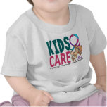 Kids Care 1 Thyroid Cancer T Shirts