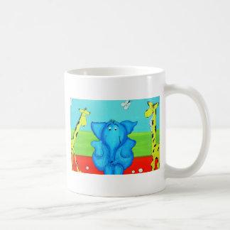 kids cartoon classic white coffee mug