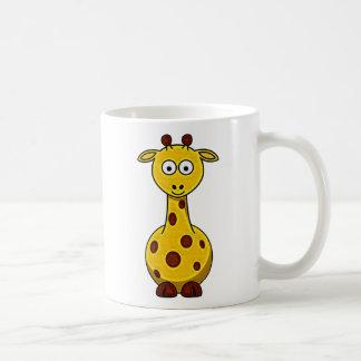 Kid's Cartoon Giraffe Mug