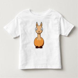 Kids Cartoon Llama T-Shirt