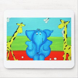 kids cartoon mouse pad