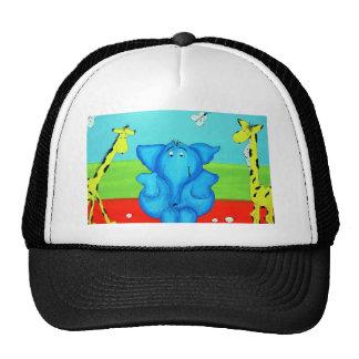 kids cartoon trucker hat