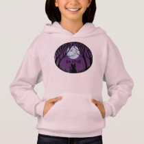 Kid's Cat Lover Hoodie Fat Cat Kid's Sweatshirt