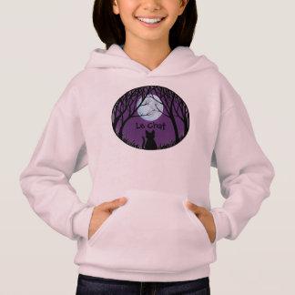 Kid's Cat Lover Hoodie Fat Cat Kid's Sweatshirt