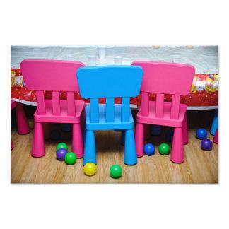 Kids chairs photograph