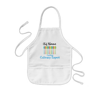 Kid's Chef Apron: Certified Culinary Expert Kids' Apron