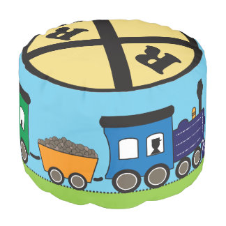 Kid's Choo Choo Train Pouf