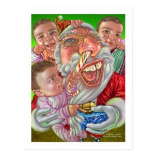 kids_christmas postcard