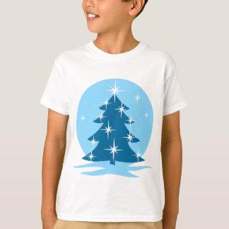 Kid's Christmas T-shirt Blue Holiday Classic Tee