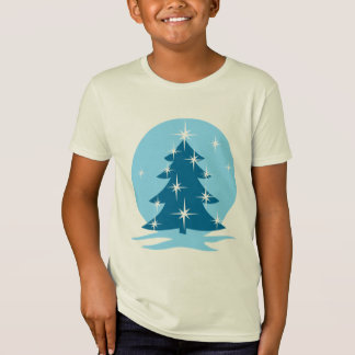 Kid's Christmas T-shirt Organic Fun Holiday Shirt
