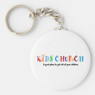 Kids Church Christian Gift Keychain