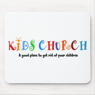 Kids Church Christian Gift Mouse Pad