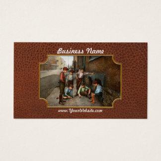Kids - Cincinnati OH - A shady game 1908 Business Card